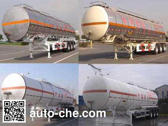 CIMC ZJV9400GHY chemical liquid tank trailer
