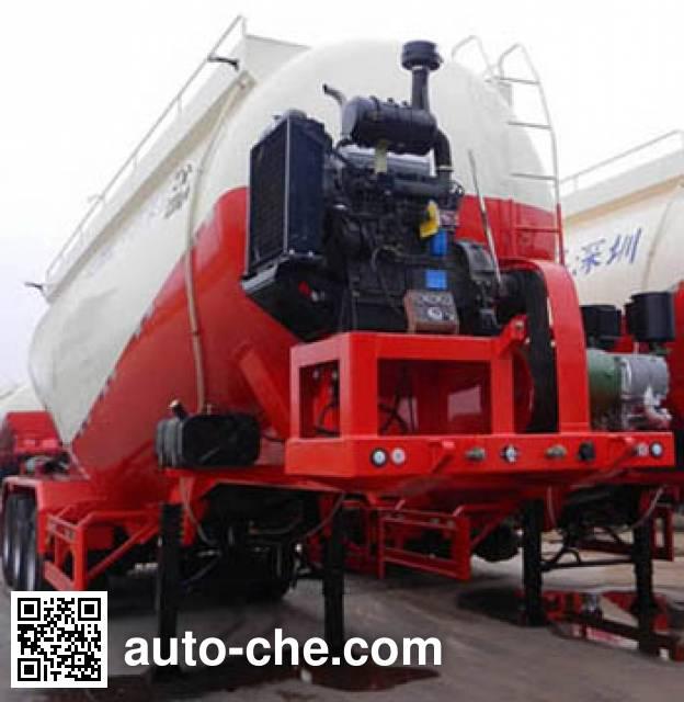 CIMC ZJV9400GXHSZ ash transport trailer