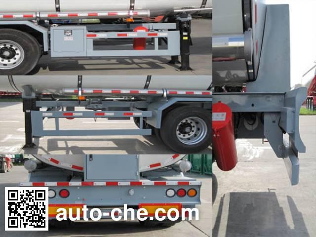 CIMC ZJV9400GYSSZ liquid food transport tank trailer