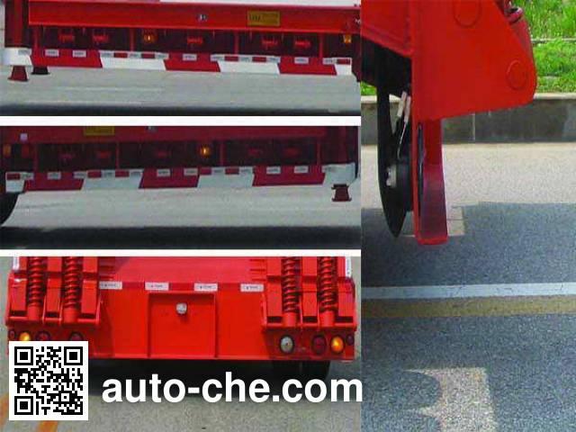 中集牌ZJV9400TDPYK低平板运输半挂车