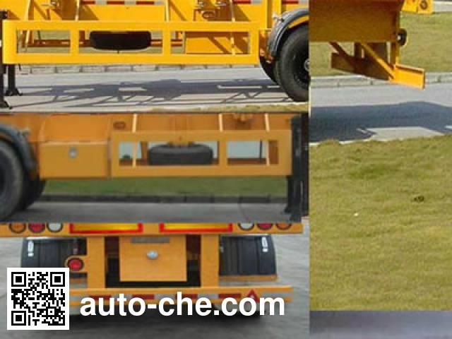 中集牌ZJV9400TJZ集装箱运输半挂车