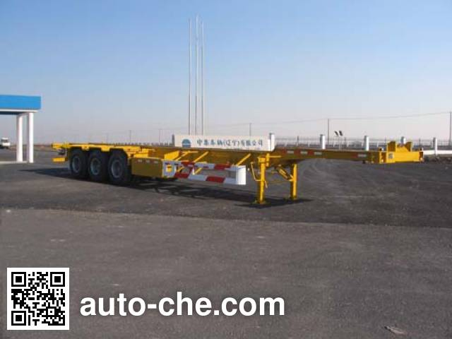 CIMC ZJV9400TJZYK container carrier vehicle