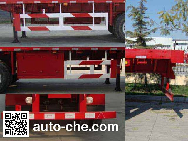 CIMC ZJV9400TYCDY timber/pipe transport trailer