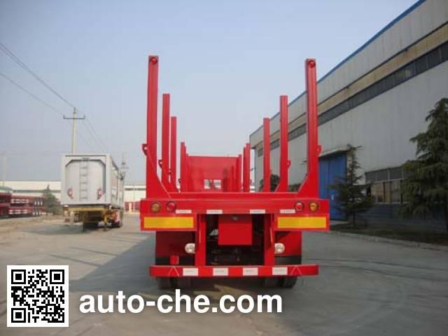 CIMC ZJV9400TYCDY timber/pipe transport trailer