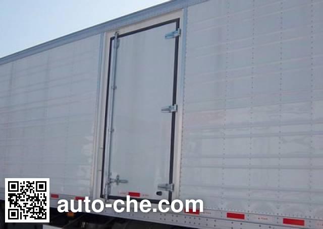 CIMC ZJV9400XLCQD refrigerated trailer
