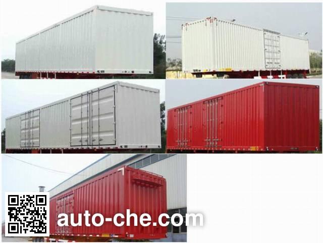 CIMC ZJV9400XXYDY box body van trailer