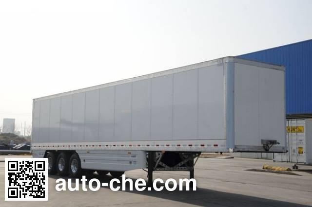 CIMC ZJV9400XXYQD box body van trailer