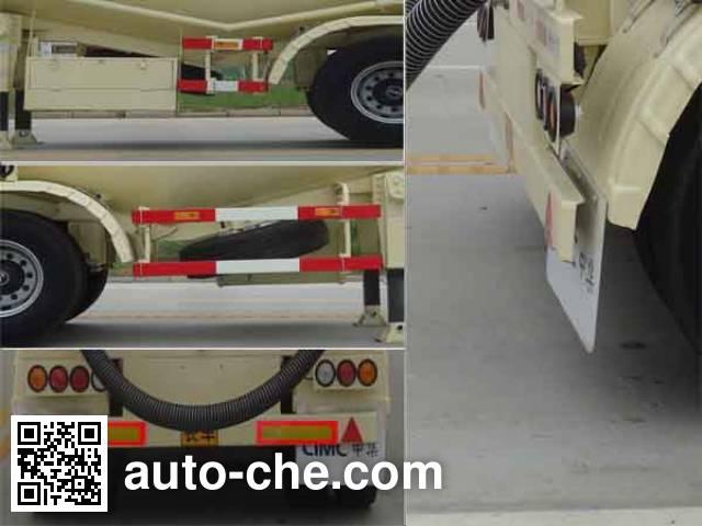 CIMC ZJV9401GFLRJA bulk powder trailer