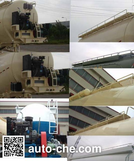 CIMC ZJV9402GFLTH bulk powder trailer