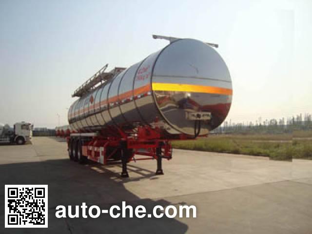 CIMC ZJV9401GRYSZA flammable liquid tank trailer