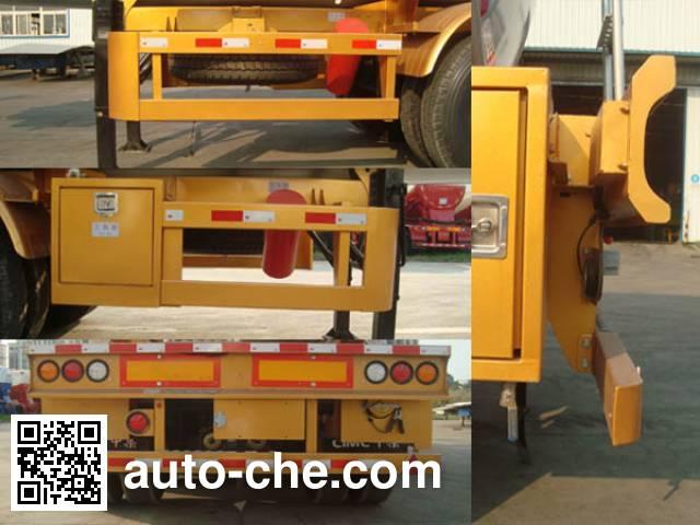 CIMC ZJV9401GYWSZ oxidizing materials transport tank trailer