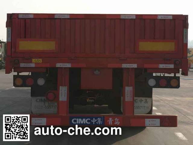 CIMC ZJV9381QD dropside trailer