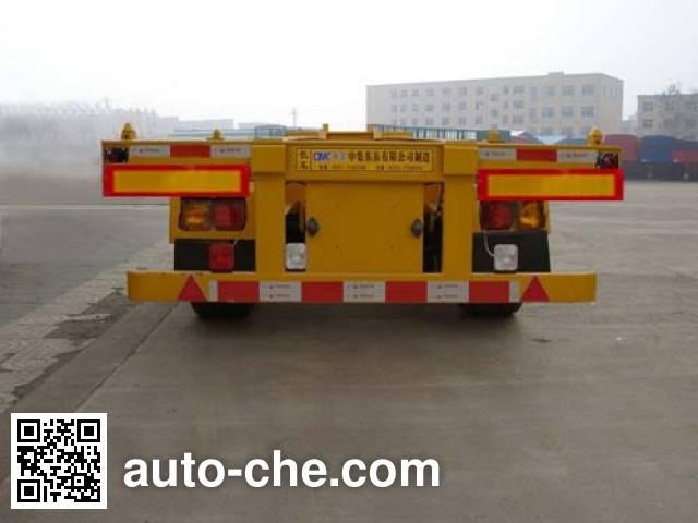 CIMC ZJV9401TJZDYA container transport trailer