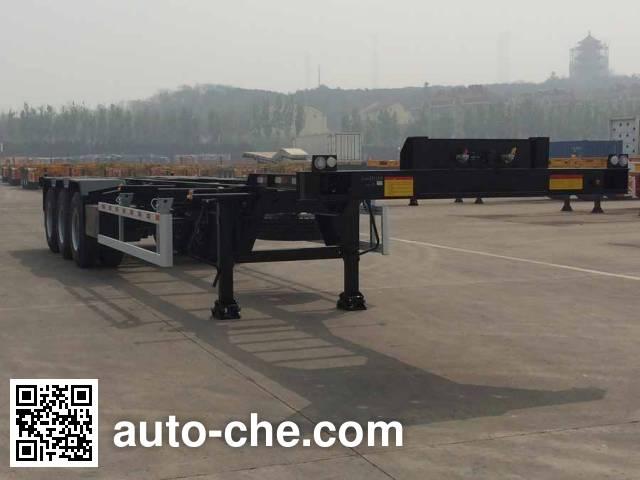 CIMC ZJV9401TJZQDA container transport trailer