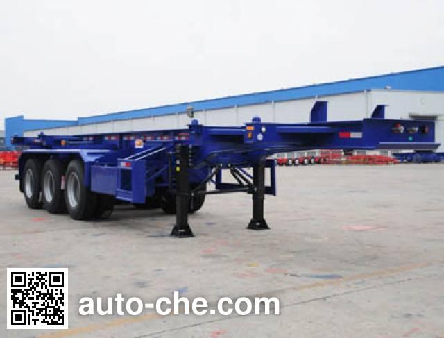 CIMC ZJV9401TJZSZ container transport trailer