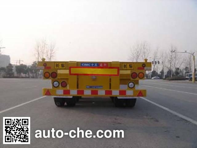 CIMC ZJV9401TJZTHB container transport trailer