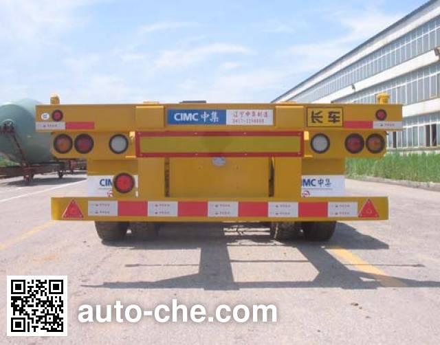 CIMC ZJV9401TJZYK container transport trailer