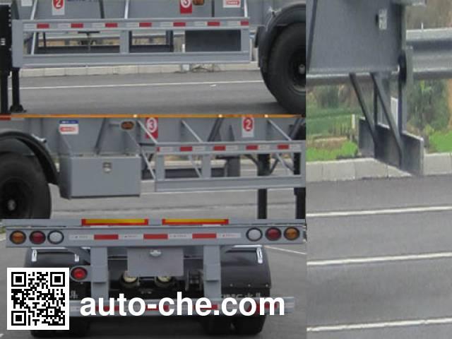 CIMC ZJV9401TYASZ timber/pipe transport trailer
