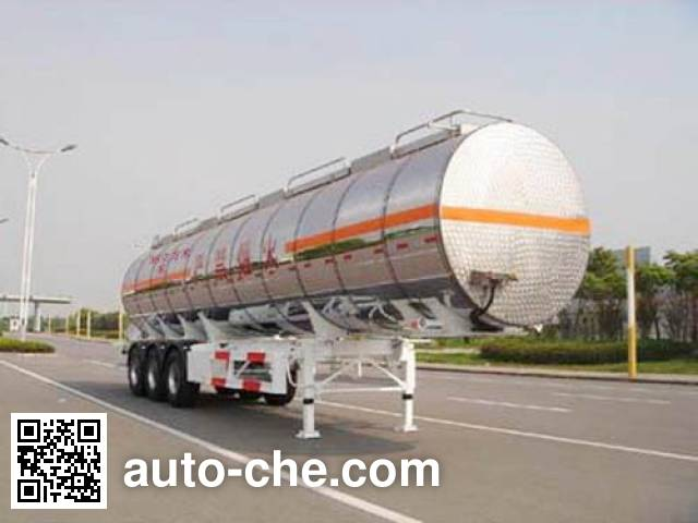 CIMC ZJV9402GHYTH chemical liquid tank trailer