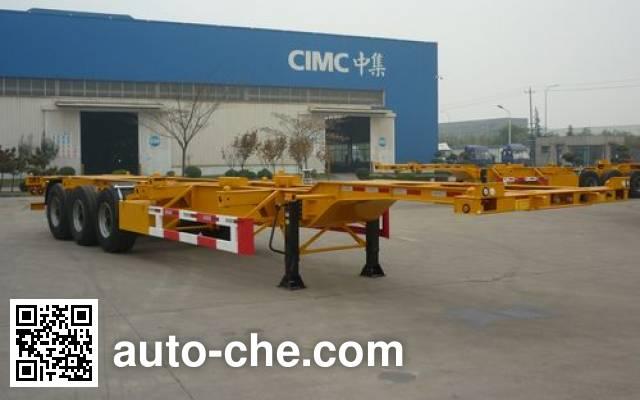 CIMC ZJV9402TJZQD container transport trailer