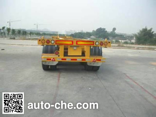 CIMC ZJV9400TJZSZ container transport trailer