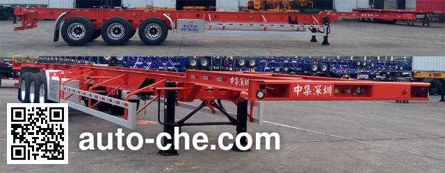 CIMC ZJV9402TJZSZA container transport trailer
