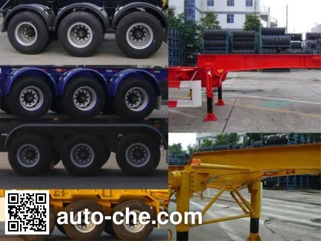 CIMC ZJV9402TJZTHA container transport trailer