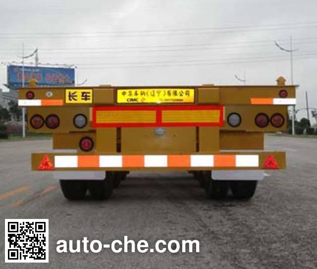 CIMC ZJV9402TJZYK container transport trailer