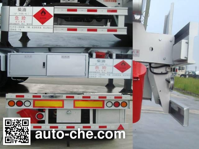 CIMC ZJV9403GYYSZ oil tank trailer