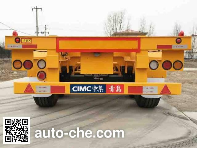 CIMC ZJV9383TJZQDS container transport trailer