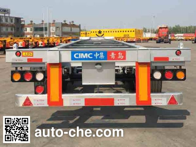 CIMC ZJV9403TJZQDSL container transport trailer