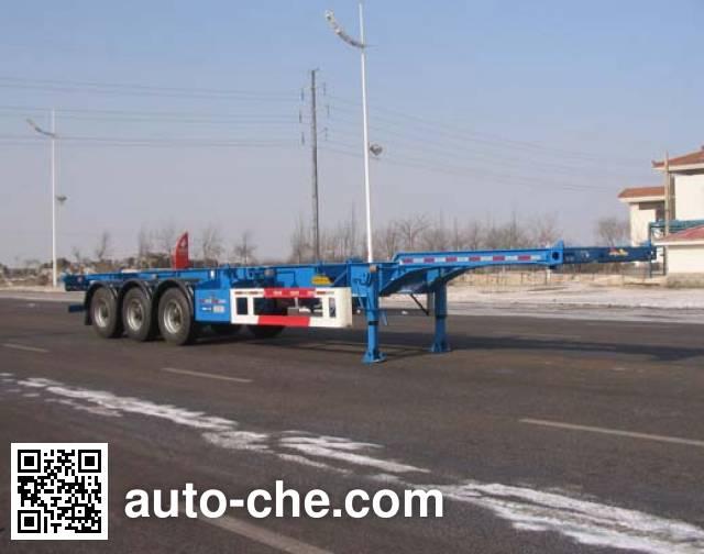 CIMC ZJV9403TJZYK container transport trailer
