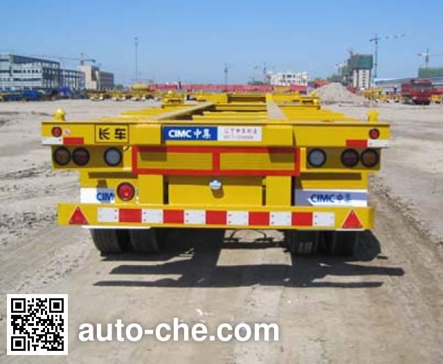 CIMC ZJV9403TJZYK01 container transport trailer