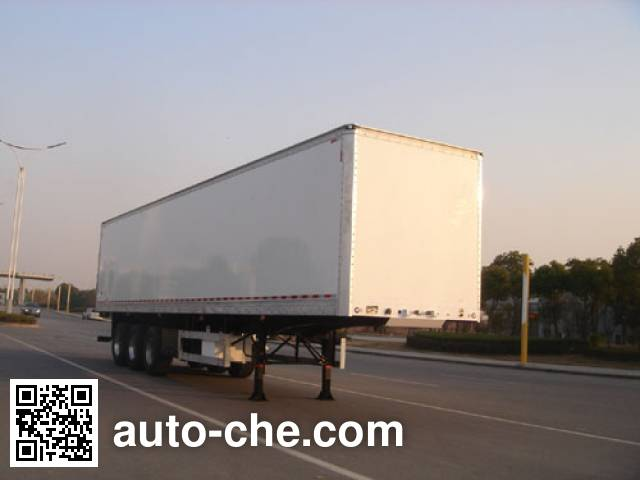 CIMC ZJV9403XXYTH box body van trailer