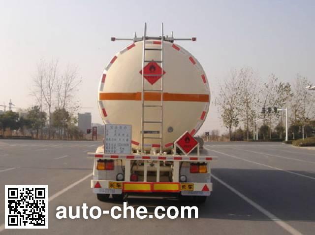 CIMC ZJV9404GRYTHE flammable liquid tank trailer