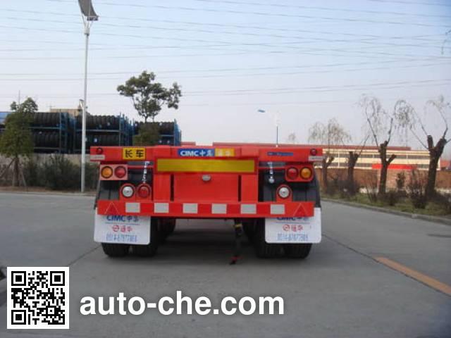 CIMC ZJV9404TJZTH container transport trailer