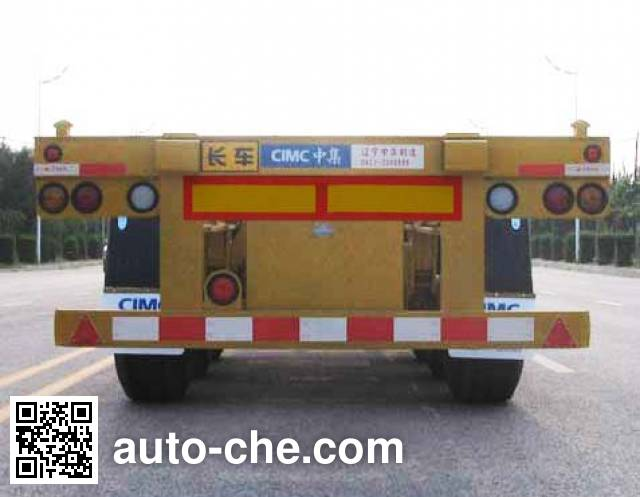 CIMC ZJV9404TJZYK51 container transport trailer