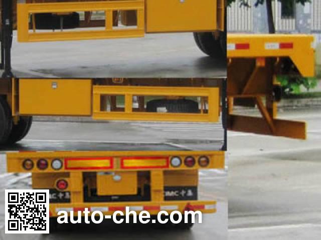 CIMC ZJV9404TPSZ flatbed trailer