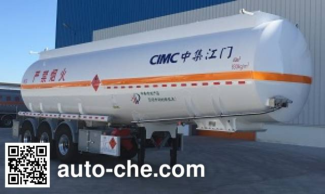 CIMC ZJV9405GYYJM aluminium oil tank trailer
