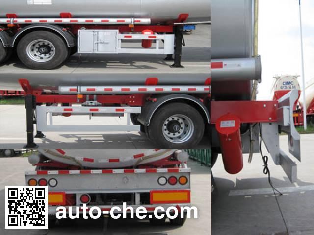CIMC ZJV9405GYYSZA oil tank trailer