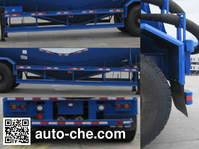 CIMC ZJV9406GFLSZ medium density bulk powder transport trailer