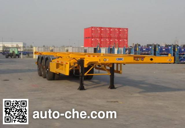 CIMC ZJV9371TJZQD container transport trailer