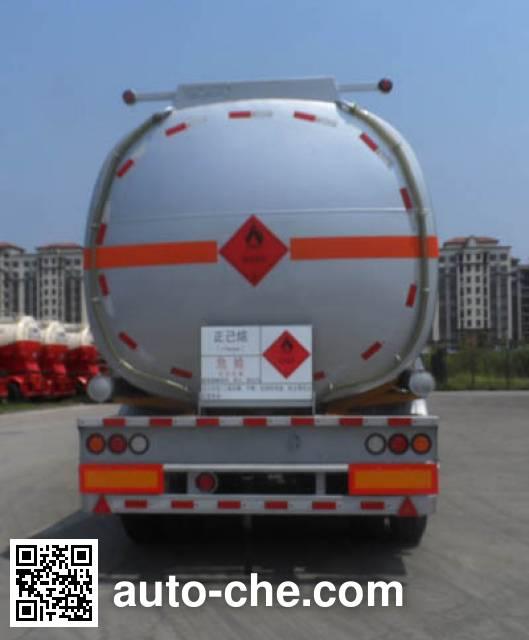 CIMC ZJV9407GRYSZB flammable liquid tank trailer