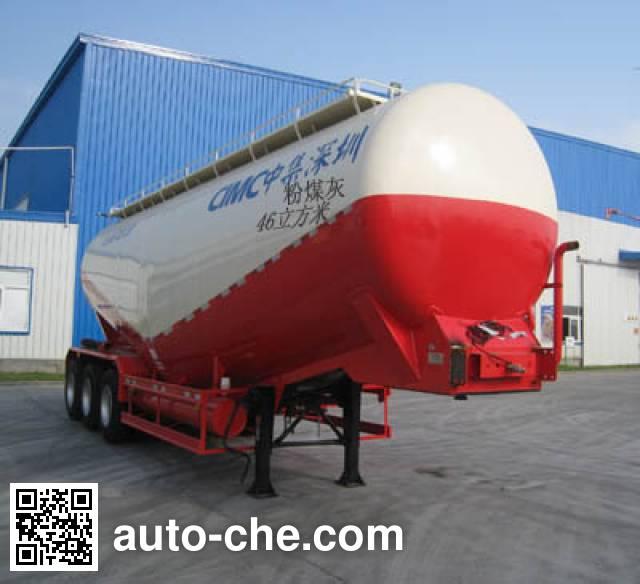 中集牌ZJV9408GFLSZ低密度粉粒物料运输半挂车