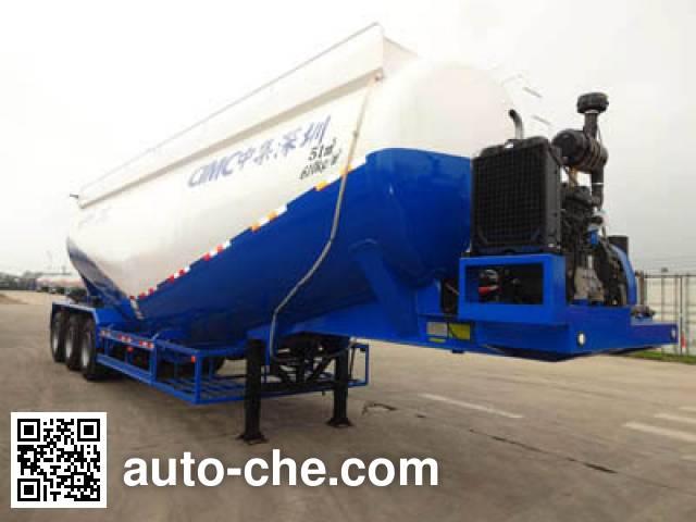 CIMC ZJV9409GFLSZ low-density bulk powder transport trailer