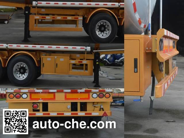 CIMC ZJV9409GRYSZA flammable liquid tank trailer