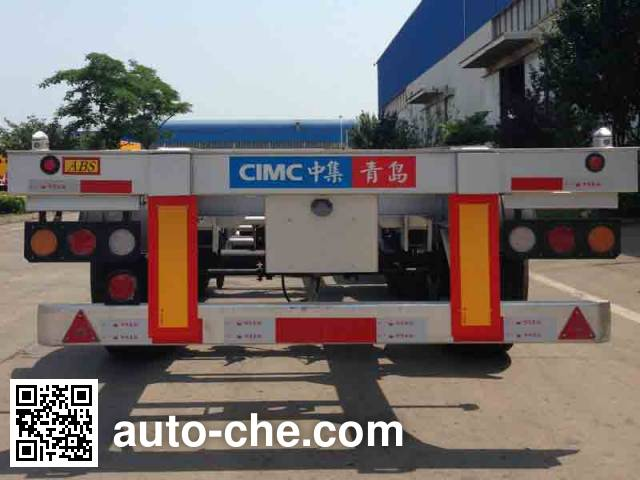 CIMC ZJV9409TJZQDL container transport trailer