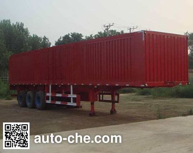 Juwang ZJW9400XXY box body van trailer