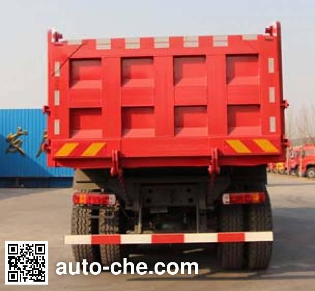 Luzhu Anju ZJX3250ZZ3671 dump truck