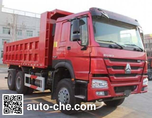 Luzhu Anju ZJX3250ZZ3871 dump truck